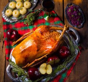 Weihnachtsgans Fleischerei Kadach