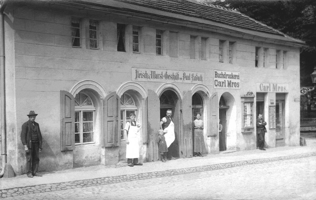 Das Forster Eck um 1920