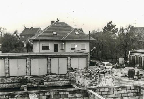 Der Rohbau 1989